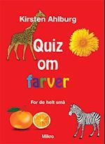 Quiz om farver - for de helt små