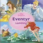 Eventyrsamling - fire fantastiske fortællinger (Disney prinsesser)