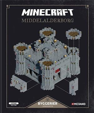 Bog, indbundet Minecraft - middelalderborg af Craig Jelley