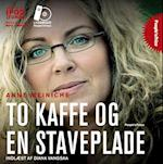 To kaffe og en staveplade (People's price)