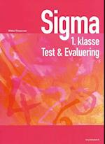 Sigma 1. klasse - test & evaluering
