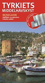 Tyrkiets middelhavskyst (Rejseguide med kort)