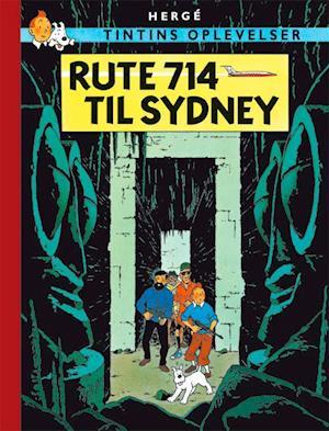 Bog, indbundet Tintins Oplevelser: Rute 714 til Sydney af Hergé