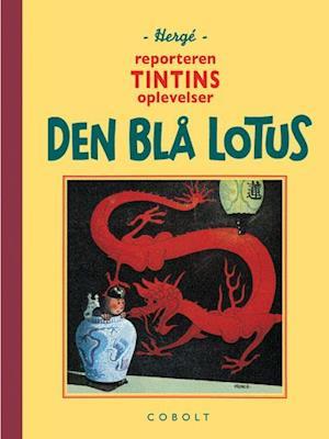 Bog indbundet Den blå lotus af Hergé