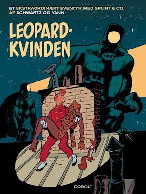 Bog, indbundet Leopardkvinden af Yann