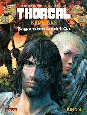 Bog indbundet Thorgal- Sagaen om landet Qa af Jean Van Hamme
