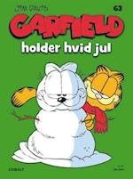 Garfield holder hvid jul (Garfield, nr. 63)