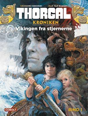 Bog indbundet Thorgal- Vikingen fra stjernerne af Jean Van Hamme