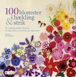 100 blomster i hækling og strik