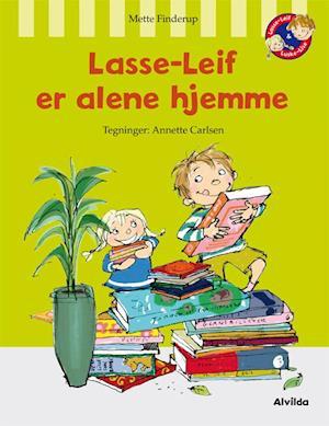 Lasse-Leif er alene hjemme