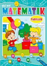 Mal med matematik: Gangetabeller (Mal med matematik)