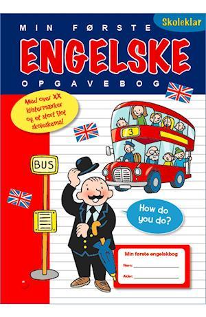 Få Min Første Engelske Opgavebog Med Ordbog Og Stickers Af Som Bog