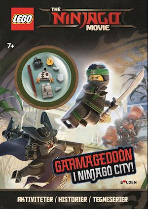 LEGO(R) Ninjago The Movie. Aktivitetsbog med minifigur
