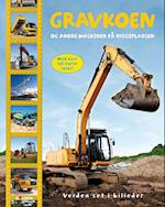 Gravkoen og andre maskiner på byggepladsen (Verden set i billeder)