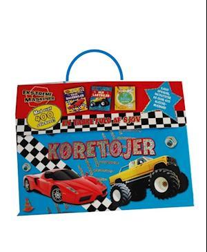 En taske fuld af sjov: Køretøjer