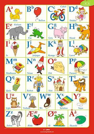 alfabetet på dansk