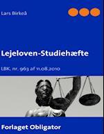 Lejeloven - Studiehæfte af Lars