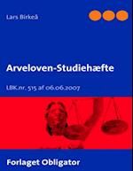 Arveloven - Studiehæfte