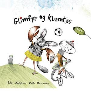 Bog indbundet Glimfyr og Klumtøs af Peter Adolphsen
