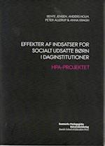 Effekter af indsatser for socialt udsatte børn i daginstitutioner af Anna Kragh, Peter Allerup, Bente Jensen
