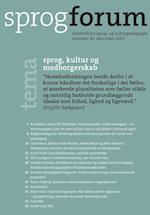 Sprog, kultur og medborgeskab (Sprogforum, nr. 41)
