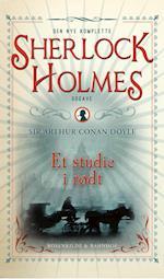 Et studie i rødt. En Sherlock Holmes krimi. (Den nye komplette Sherlock Holmes, nr. 1)