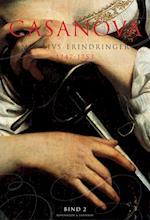 Casanova - mit livs erindringer. Erotiske memoirer 1747-1753 (nr. 2)