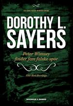 Peter Wimsey finder fem falske spor (En Lord Peter Wimsey-krimi, nr. 6)