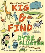 Kig & find dyreflugten. og tæl også lidt! af Steve Smallman