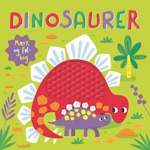 karrusel forlag – Dinosaurer mærk og føl-bog-karrusel forlag-bog fra saxo.com