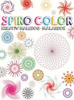 Spiro sæt - malebog med gel pens og spiraler