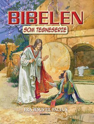 Bog, hæftet Bibelen som tegneserie