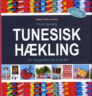 Bog indbundet Fin & farverig - tunesisk hækling af Lisbet Lücke Larsen