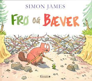 Bog, indbundet Frø og Bæver af Simon James
