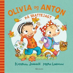 Bog indbundet Olivia og Anton på skattejagt af Katerina Janouch