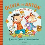 Olivia og Anton på skattejagt