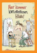 Her kommer kartoffelfrøen, Hilda! af Markus Majaluoma