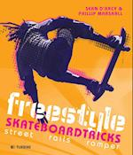 Freestyle skateboardtricks