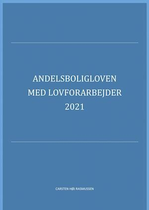 Andelsboligloven med lovforarbejder 2019