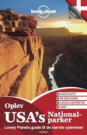 Bog hæftet Oplev USA's nationalparker af Lonely Planet