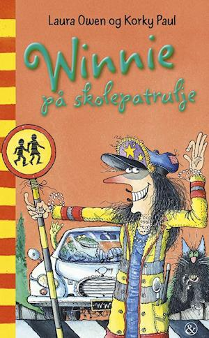 Bog, hæftet Winnie på skolepatrulje af Laura Owen