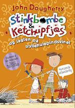 Stinkbombe & ketchupfjæs og jagten på tryllehulepindsvinet af John Dougherty