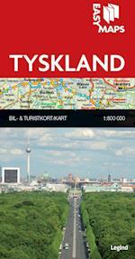 Easy Maps - Tyskland (Easy Maps Lande og regioner)