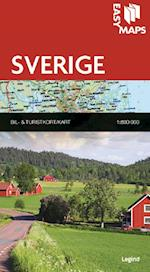Easy Maps - Sverige (Easy Maps Lande og regioner)