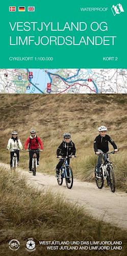 Cykelkort #2 Vestjylland og Limfjordslandet
