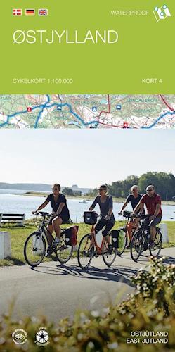 Cykelkort #4 Østjylland