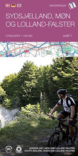 Cykelkort #7 Sydsjælland, Møn og Lolland-Falster