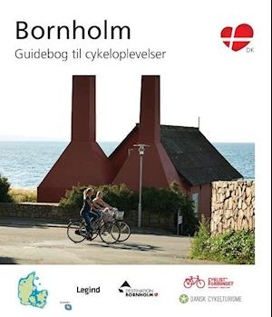 Bog hæftet Bornholm - guidebog til cykeloplevelser af Jesper Pørksen Michael Hammel
