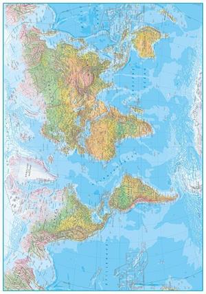 Bog, ukendt format Klassisk verdenskort