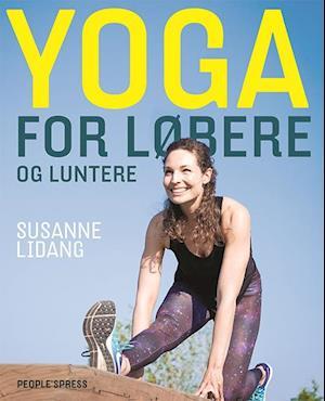 Bog, hæftet Yoga for løbere og luntere af Susanne Lidang